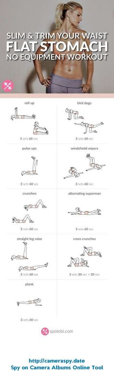 Want to easily whip your tummy into shape? Try this at home flat stomach workout for women, to sculpt your abs in no time, and get a slim, toned and trim belly. www.spotebi.com/... #stomachworkout