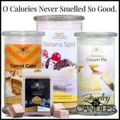 Zero calories!!   www.jewelryimcandles.com/store/dbarcelou