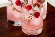 This peach melba cooler recipe has fresh raspberries and a peach-infused simple syrup that makes for a tasty nonalcoholic summer drink.