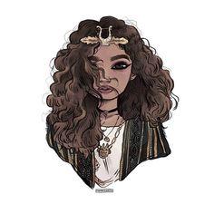 I need a breather. @zendaya slays my whole existence. • • • #fanart #illustration #muse