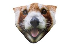 Red Panda Nose Face Mask Funny Panda Face Mask Washable face   Etsy Funny Face Mask, 7 Layers, Activated Carbon Filter, Protective Mask, Red Panda, Cute Faces, Color Show, Colours, Crafty