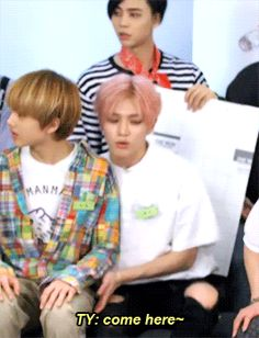 jisung is still a baby to taeyong