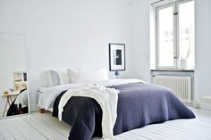 "gegofrank: ""Dolce notte!! Beautiful bedroom!! Nordic design, interior home, interior design """