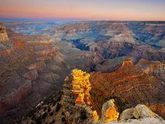 the Grand Canyon - beautiful!