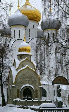 Novodevichy Convent in Moscow. #Russia