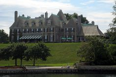 """Harbour Court"" Newport RI: New York Yacht Club by wallyg, via Flickr"
