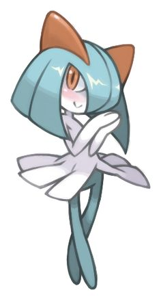 shiny kirlia the princess of the world | Pokemon