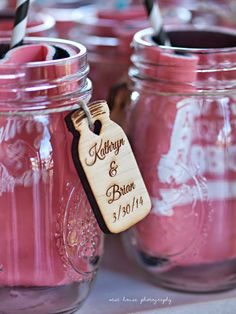 Kathryn + Brian | Nocatee Crosswater Hall Wedding | Souther wedding | Rustic wedding | Babies breath | Florida wedding | Ring shot | sparkles | ombre | cowbow boots | Jcrew bridesmaids dresses | West House Photography | mason jar favors | wedding koozies