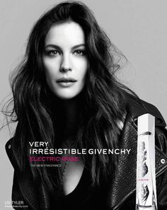 Liv Tyler for Very Irrésistible Givenchy Electric Rose