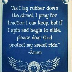 Gearhead's prayer