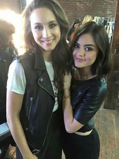 Find images and videos about friends, pretty little liars and pll on We Heart It - the app to get lost in what you love. Pretty Little Liars Aria, Lucy Hale Style, Spencer Hastings, Aria Montgomery, Actors & Actresses, Favorite Tv Shows, Beautiful Women, People, Beauty