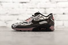 Nike Air Max 90 Ice White/Cool Grey-Black-Infrared