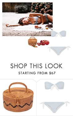 """""""Summer Daze"""" by giulia-avenue ❤ liked on Polyvore featuring FEVERISH, NOVICA, Candie's and Eberjey"""