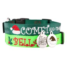 How adorable are these collars?!