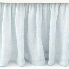 Pine Cone Hill Savannah Linen Bed Skirt