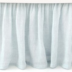 Pine Cone Hill Savannah Linen Bed Skirt