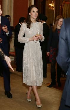 Kate Middleton y sus zapatos estilo Cenicienta