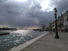 Rain with sun... #rain #sun #venice #water #giudecca #giudeccaisland #venicesky #sky #clouds #veniceclothing #zattere #wunderkammer