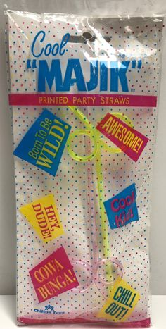 The Angry Spider Has All Of The Toys You Want For Your Collection: TAS038594 - Chilt...  Check it out here! http://theangryspider.com/products/tas038594-chilton-toys-cool-majik-printed-party-straws?utm_campaign=social_autopilot&utm_source=pin&utm_medium=pin