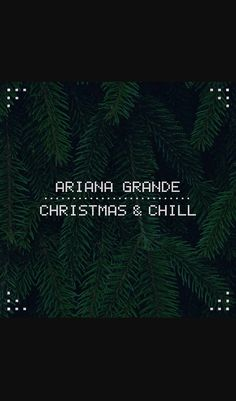 Ariana Grande: 'Christmas & Chill' Full EP Stream – LISTEN NOW! Christmas has come early! Ariana Grande's much teased holiday EP Christmas & Chill is here and you can stream all the songs right now! Ariana Grande Album Cover, Ariana Grande News, New Christmas Songs, Christmas Albums, Christmas Christmas, Yours Truly, Music Album Covers, Music Albums, Chill