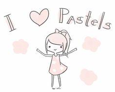 I love pastels