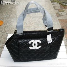 Chanel dog carrier