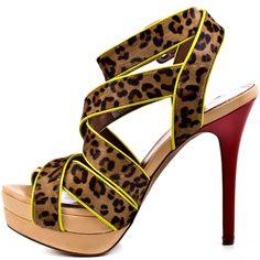 Evangela 2 - B Cheetah Pony  Jessica Simpson $98.99