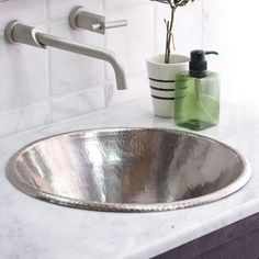 The Cazo Drop-In or Vessel Sink is a versatile sink that can accommodate different countertop styles. http://www.ybath.com/native-trails-cazo-drop-in-or-vessel-sink.html