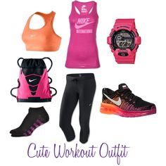 Cute Workout Outfit by #lapradaphotography