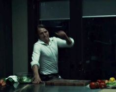 Hannibal: I have to say, as appealing as Hannibal's intellectual capacity is, I looove when he has physical fight scenes. I'm a little disturbed by how much I enjoyed this scene.