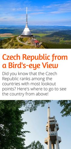 Czech Republic from a Bird's-eye View: Lookin for one of the best things to do in the Czech Republic? How about a view from above? Here's where to go to see the country from up high! Let us celebrate our 100 years together! European Destination, European Travel, Travel Tips For Europe, Travel Destinations, Travel Pictures, Cool Pictures, Prague Travel, Countries To Visit, Birds Eye View