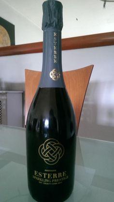 At Whelehans Wines, Dublin. Esterre Sparkling Prestige, Stonewell Premium cider, Irish craft cider