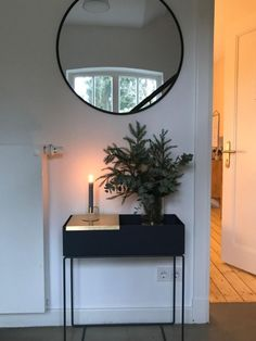 Black Furniture, Bedroom Furniture, Plant Box, Studio Living, Plant Shelves, New Room, Home And Living, Interior Inspiration, Balcony