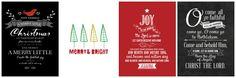 Christmas Printables   Kimberly Kalil Designs