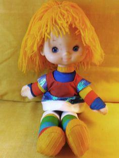 """Vintage 1983 Mattel RAINBOW BRITE Doll Hallmark Cards 10"""" #Dolls #RainbowBrite"""