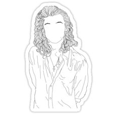 Harry Styles Outline Sticker