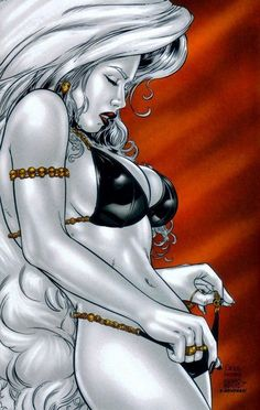 lady death marvel naked