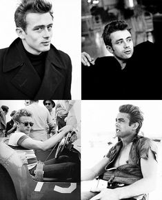 """James Dean. The top left picture """"You're lusting after me aren't you?"""" bahaha"""
