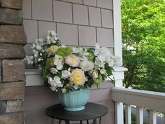 Week 21 // Slow Flowers Challenge with Mock Orange and Garden Peonies - I'm inspired - I've a mock orange sitting in the pot that needs planting! Mock Orange, Peonies Garden, Hair Pieces, Garden Inspiration, Design Projects, Flower Arrangements, Bouquets, Floral Design, Centerpieces