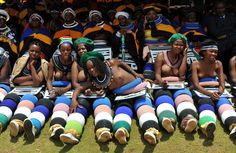 girls of the Ndebele