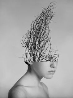 Los Angeles-based artist Alexandra Bellissimo has created some amazing collages using the human body and nature. As a conceptual photographer, Bellissimo Surrealism Photography, Conceptual Photography, Creative Photography, Fine Art Photography, Portrait Photography, Surrealism Art, Exposure Photography, Photography Magazine, Abstract Photography
