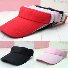 Hot! 7 Colors Outdoor Casual Sunhat Beach Hat Empty Baseball Cap For Men Women Summer  Fashion Golf Tennis Hat