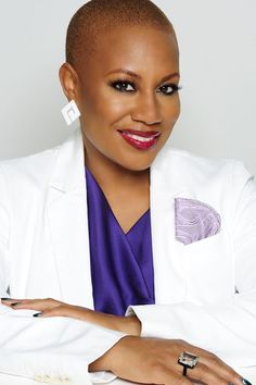 Felicia Leatherwood - Natural hair Stylist/Specialist, Founder of the Loving Your Hair With Natural Care Workshop Twa Styles, Curly Hair Styles, Natural Hair Styles, Bald Women, Love Your Hair, Hair Photo, Clip In Hair Extensions, Textured Hair, Short Hair Cuts