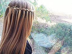 rope waterfall braid