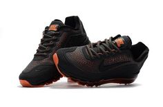 New Coming Nike Air Max 2017  5 KPU Grey Black Orange Mens