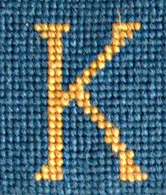 needlepoint K