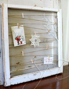 fensterrahmen weihnachtskarten basteln vorlagen dekorativ