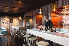 Our favourite new destinations across the globe Lounge Design, Bar Lounge, Bars And Clubs, Coffee Places, Bar Interior, Mr Porter, Cafe Restaurant, Commercial Design, Beautiful