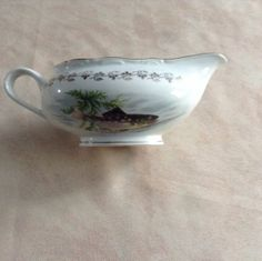French Vintage Sauce Boat Gravy Boat Digoin by AlfiejayneVintage, €22.00