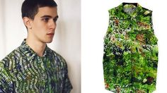 Fashion Line Blooms With Images Of Digitally Screen-Printed Greenery | The Creators Project